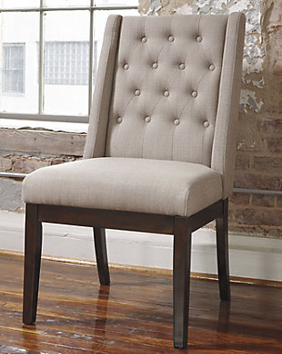 Ranimar Dining Room Chair, Medium Brown, rollover