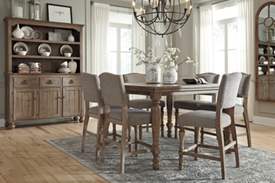 Tanshire Counter Height Dining Room Table Ashley Furniture HomeStore
