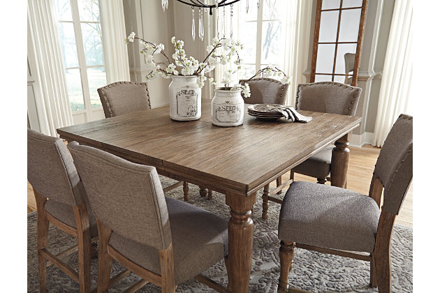Tanshire Counter Height Dining Room Table Ashley Furniture Home Store