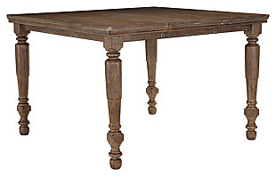 Tanshire Counter Height Dining Room Table, , large