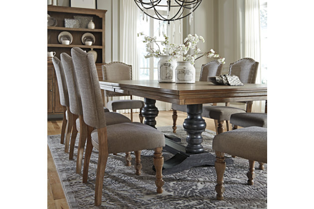 Grayish Brown Tanshire Dining Room Chair View 3