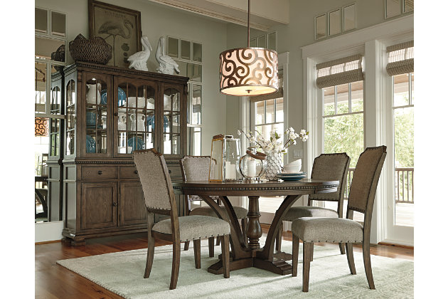 Ashley Furniture Dining Sets larrenton table and base | ashley furniture homestore