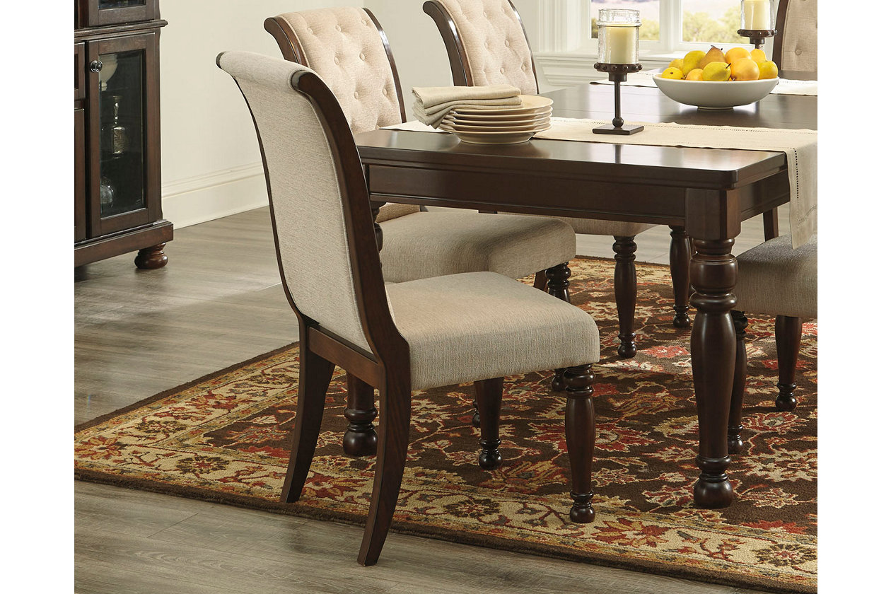 Surprising Porter Dining Room Chair Ashley Furniture Homestore Lamtechconsult Wood Chair Design Ideas Lamtechconsultcom