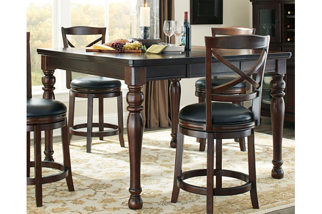 Porter Counter Height Dining Room Table by Ashley HomeStore, Brown