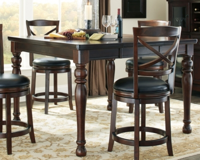 Picture of: Porter Counter Height Dining Room Table Ashley Furniture Homestore