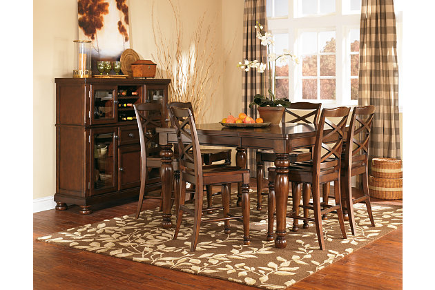 Porter Counter Height Dining Room Table | Ashley Furniture Home Store 630 x 420