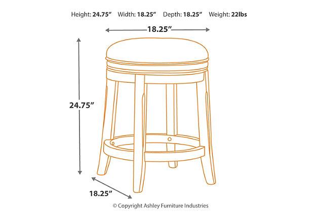 Porter Counter Height Bar Stool, , large