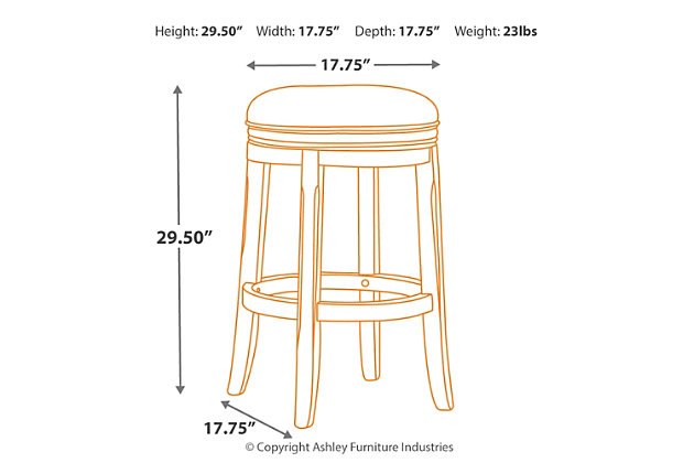Porter Bar Height Bar Stool, , large