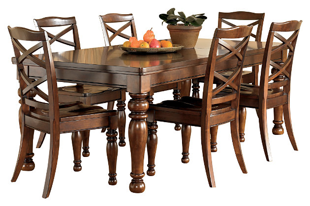 Porter dining room table ashley furniture homestore for Ashley furniture dining room table