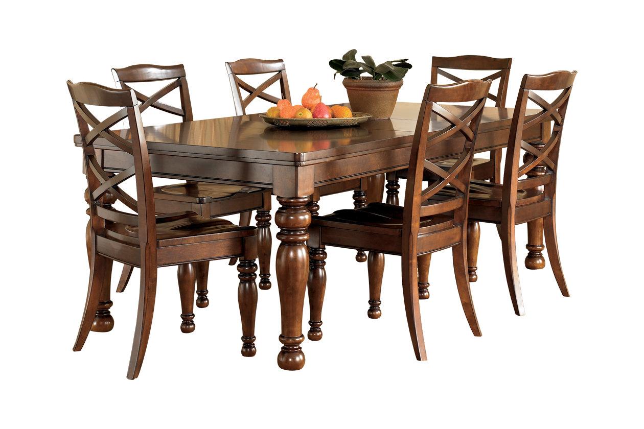 Peachy Porter Dining Room Extension Table Ashley Furniture Homestore Creativecarmelina Interior Chair Design Creativecarmelinacom