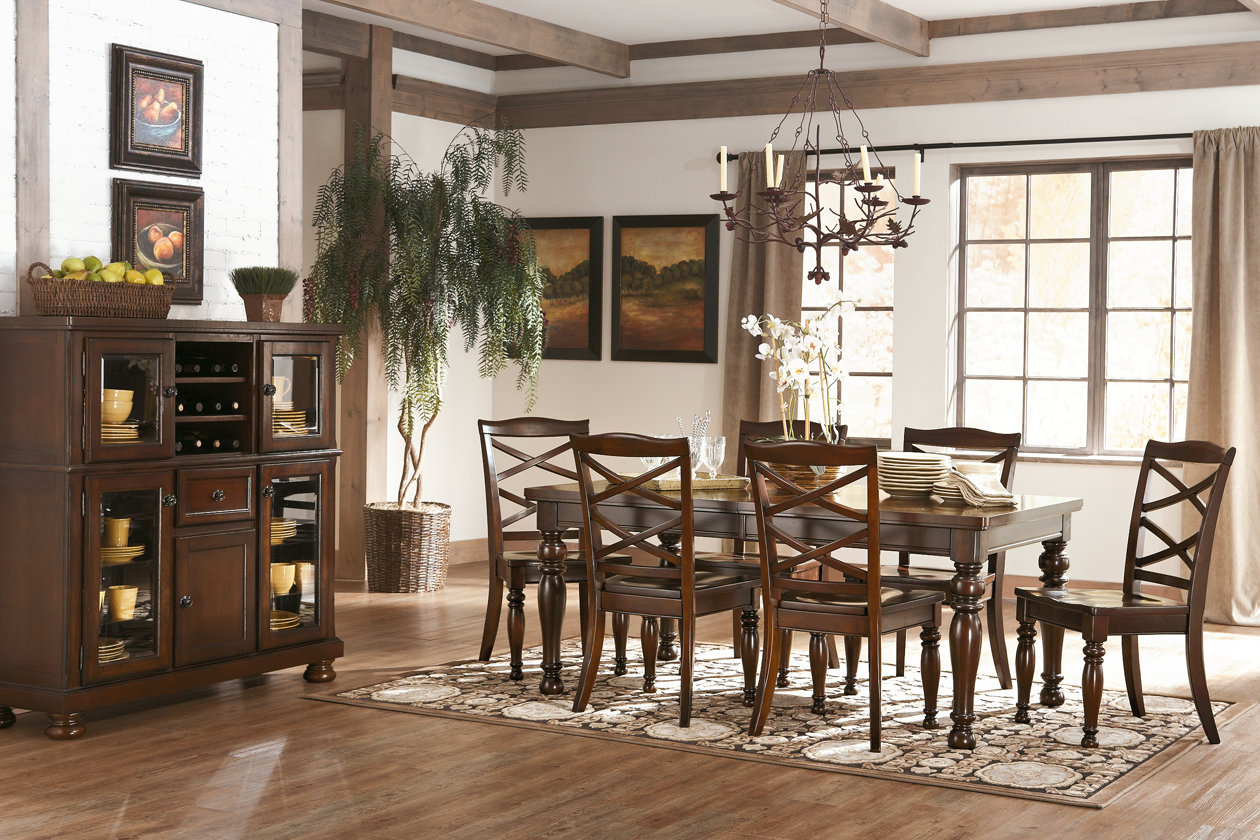 Porter Dining Extension Table Ashley Furniture Homestore