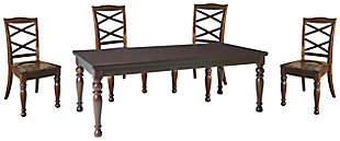 Porter Dining Table and 4 Chairs, , rollover