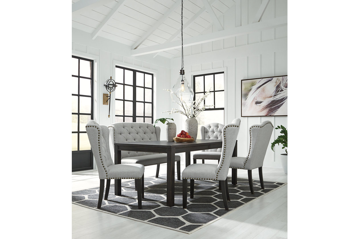 Jeanette Dining Bench | Ashley Furniture HomeStore