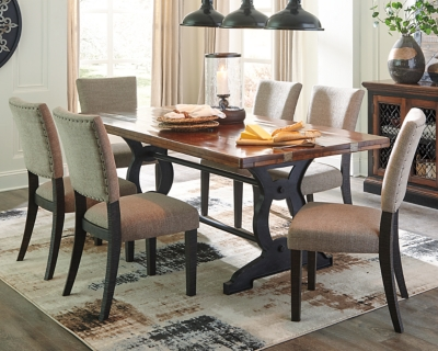 Zurani Dining Room Table, Brown/Black