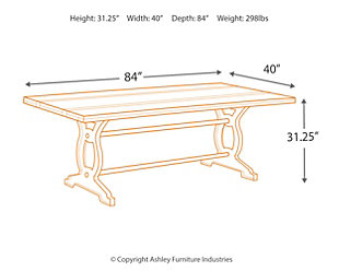 Zurani Dining Room Table, , large