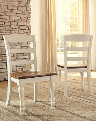 Marsilona Single Dining Room Chair, Two-tone, rollover