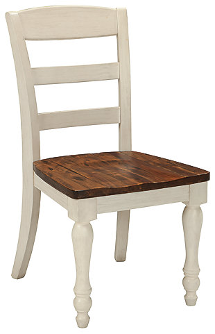 Marsilona Single Dining Room Chair, Two-tone, large