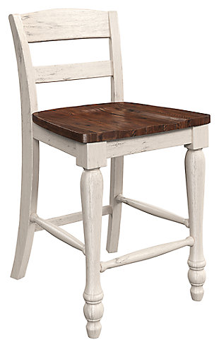 Marsilona Counter Height Bar Stool, Two-tone, large