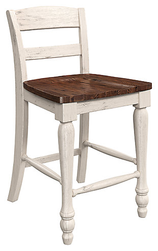 Marsilona Single Counter Height Bar Stool, Two-tone, large