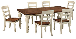 Marsilona Dining Table and 6 Chairs, , large