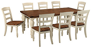Marsilona Dining Table and 8 Chairs, , large