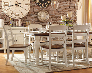 Kitchen dining room furniture ashley furniture homestore large marsilona 5 piece dining set rollover workwithnaturefo