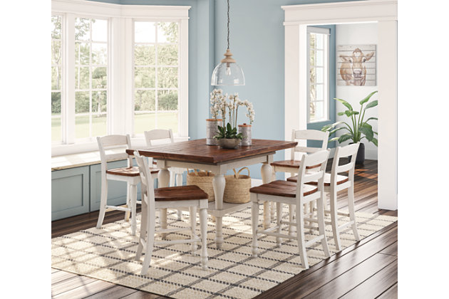 ... Marsilona Counter Height Dining Room Table, , Large ...