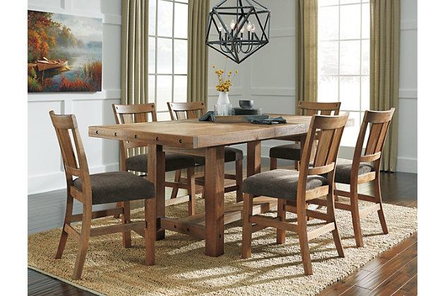tamilo counter height dining room table   ashley furniture homestore
