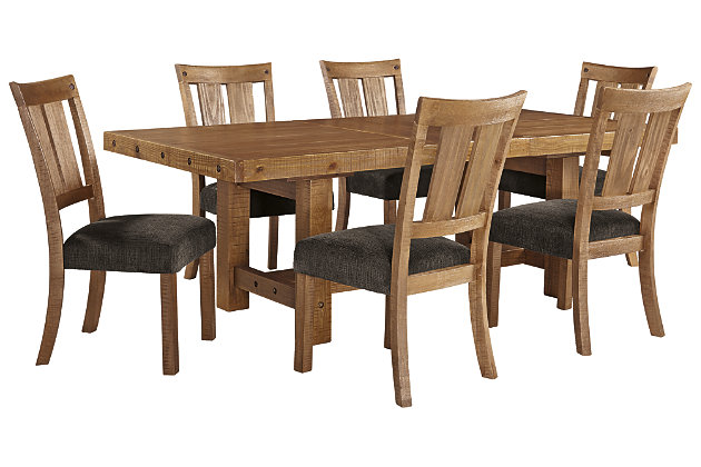 Tamilo Dining Table And 6 Chairs Set, Ashley Furniture Dining Set