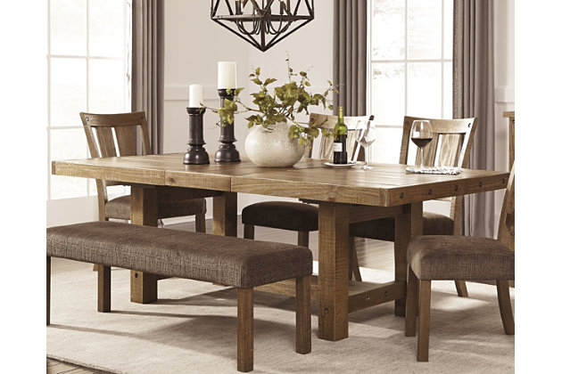 Tamilo dining room table ashley furniture homestore for Dining room furniture stores
