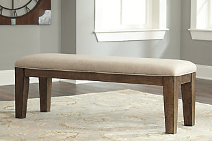 Flynnter Dining Room Bench, , rollover