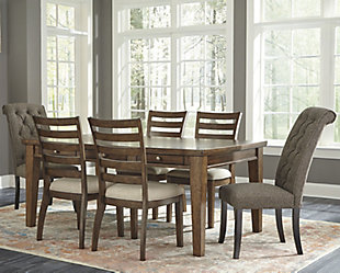 Flynnter Dining Table and 6 Chairs, , rollover