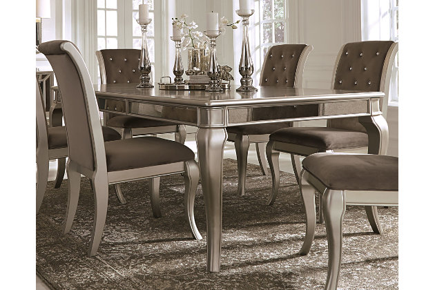 Birlanny Dining Room Table Ashley Furniture HomeStore - Ashley furniture white dining table
