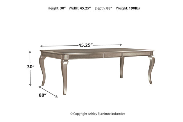 Birlanny Dining Room Table, , large