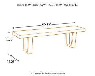 Parlone Dining Room Bench, , large