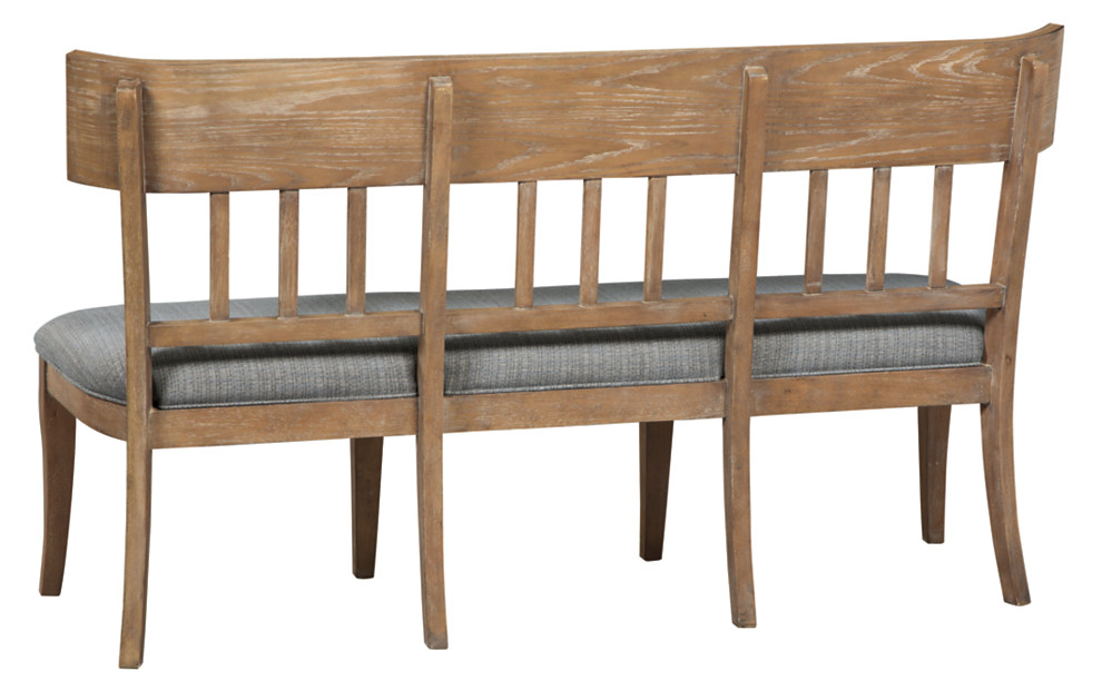 ollesburg upholstered dining room bench