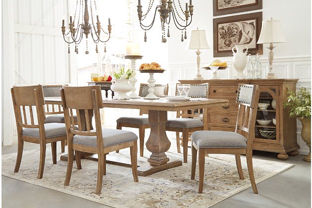 Ollesburg Dining Room Chair Ashley Furniture Homestore