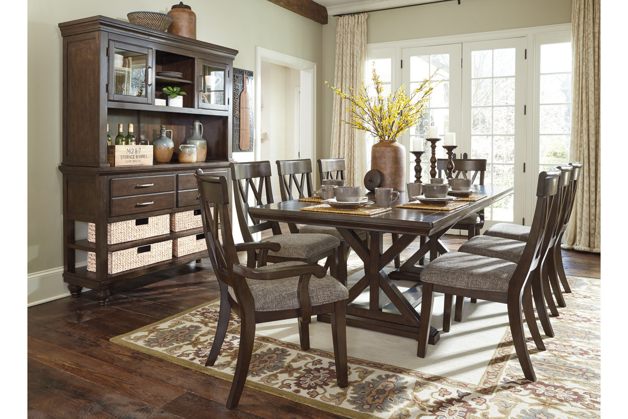 Swell Brossling Dining Room Extension Table Ashley Furniture Machost Co Dining Chair Design Ideas Machostcouk