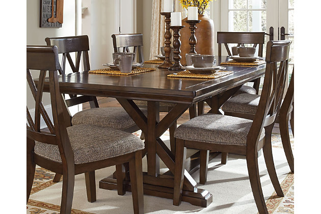 Brossling Dining Room Table Ashley Furniture Homestore