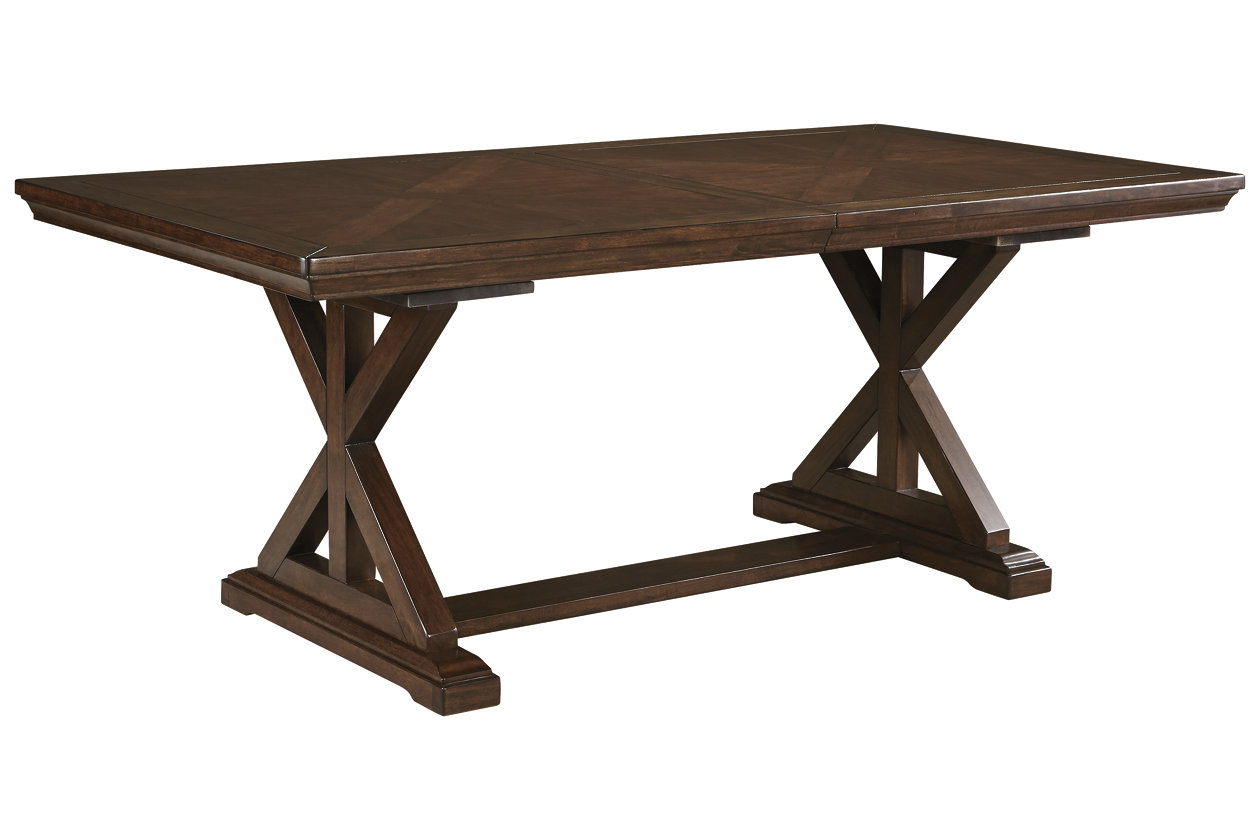 Awe Inspiring Brossling Dining Room Extension Table Ashley Furniture Machost Co Dining Chair Design Ideas Machostcouk