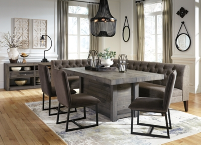 Picture of: Tripton Corner Dining Bench Ashley Furniture Homestore