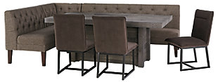 Tripton Corner Dining Room Bench, , large