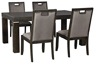 Hyndell Dining Table and 4 Chairs, , large