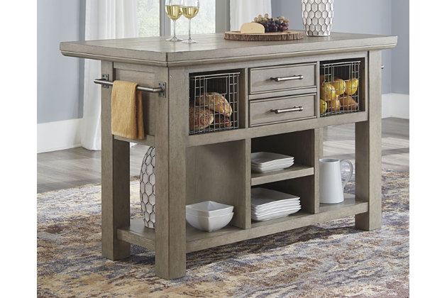 Chapstone Kitchen Island Ashley Furniture Homestore