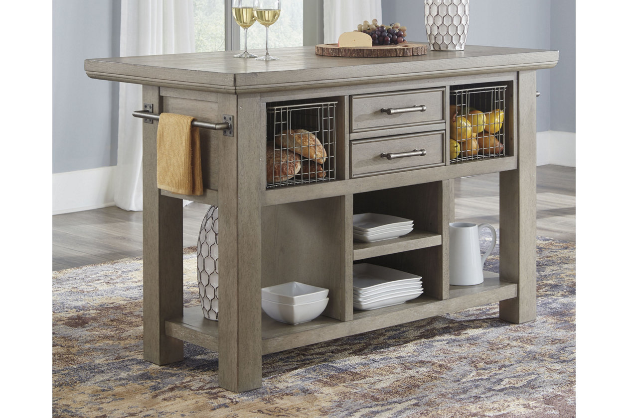 Chapstone Kitchen Island | Ashley Furniture HomeStore