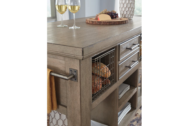 Chapstone Kitchen Island, , large