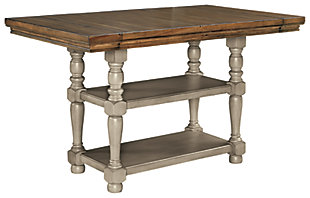 Lettner Counter Height Dining Extension Table, , large