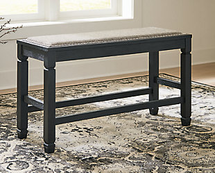 Tyler Creek Counter Height Dining Room Bench, , rollover