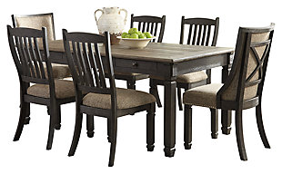 Tyler Creek Dining Table and 6 Chairs, , large
