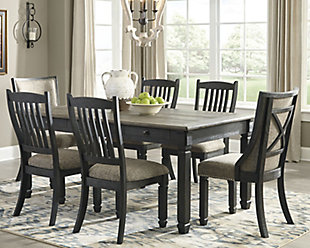 Tyler Creek Dining Table and 6 Chairs, , rollover